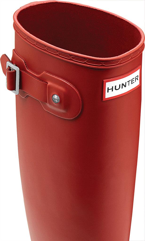 Women's Hunter Original Tall Rain Boot, Military Red, large, image 4