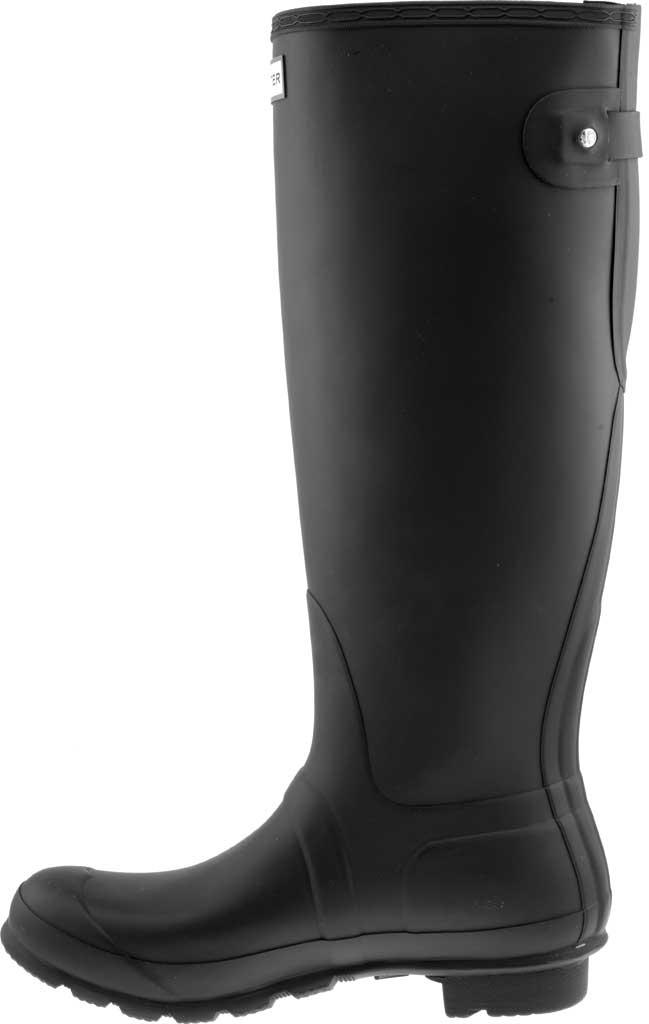 Women's Hunter Original Back Adjustable Rain Boot, Black, large, image 3