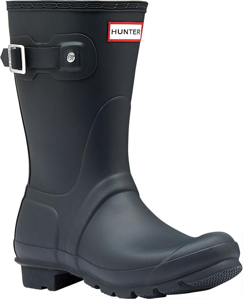 Women's Hunter Original Short Rain Boot, Navy, large, image 1