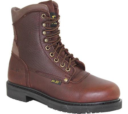 "Men's AdTec 1623 Work Boots 8"", Brown, large, image 1"