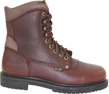 "Men's AdTec 1623 Work Boots 8"", Brown, large, image 2"