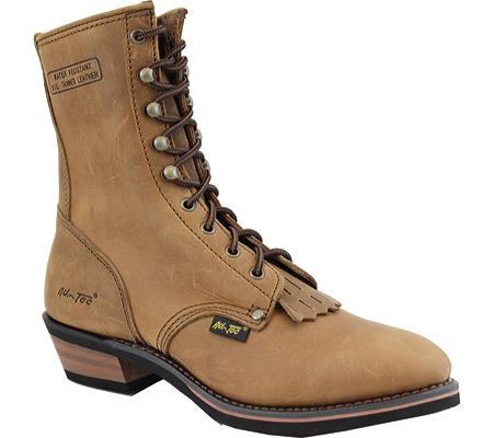 "Men's AdTec 9224 Packer Boots 9"", Tan, large, image 1"