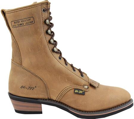 "Men's AdTec 9224 Packer Boots 9"", Tan, large, image 2"