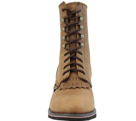 "Men's AdTec 9224 Packer Boots 9"", Tan, large, image 3"
