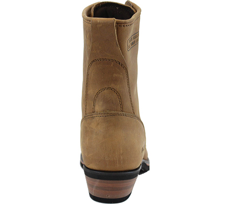 "Men's AdTec 9224 Packer Boots 9"", Tan, large, image 4"