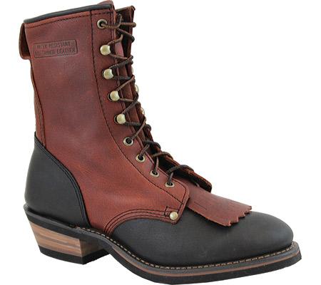 "Men's AdTec 1179 Packer Boots 9"", Chestnut/Dark Cherry, large, image 1"
