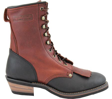 "Men's AdTec 1179 Packer Boots 9"", Chestnut/Dark Cherry, large, image 2"