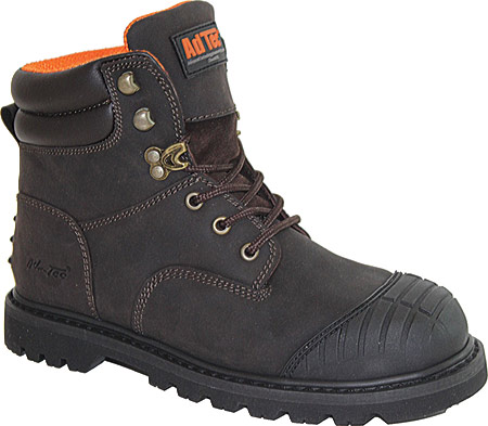 """Men's AdTec 1018 6"""" Work Boot, Brown Leather, large, image 1"""