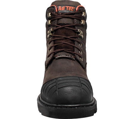 """Men's AdTec 1018 6"""" Work Boot, Brown Leather, large, image 2"""
