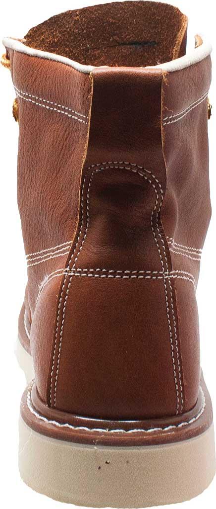 """Men's AdTec 9238L 6"""" Moc Toe Work Boot, Brown Full Grain Leather, large, image 3"""