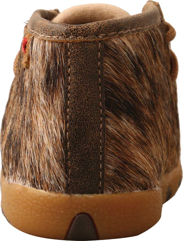 Infant Twisted X ICA0015 Chukka Driving Moc, Light Brindle Hair/Full Grain Leather, large, image 4