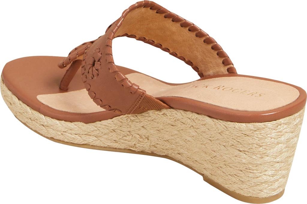 Women's Jack Rogers Jacks Wedge Sandal, Mocha Leather, large, image 3