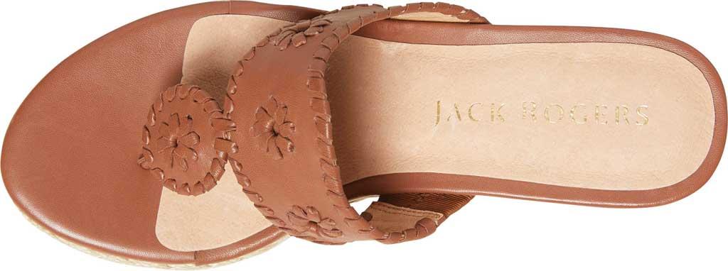 Women's Jack Rogers Jacks Wedge Sandal, Mocha Leather, large, image 4
