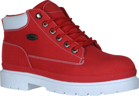 Men's Lugz Drifter Ripstop, Red/White Textile, large, image 1