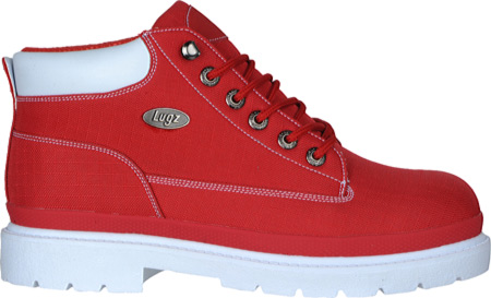 Men's Lugz Drifter Ripstop, Red/White Textile, large, image 2
