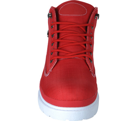 Men's Lugz Drifter Ripstop, Red/White Textile, large, image 4