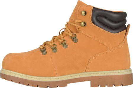 Men's Lugz Grotto Boot, Golden Wheat/Cream/Bark/Gum Thermabuck, large, image 3
