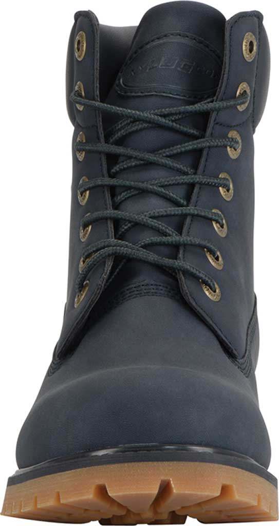 "Men's Lugz Convoy Water Resistant 6"" Work Boot, Navy/Gum Synthetic, large, image 4"