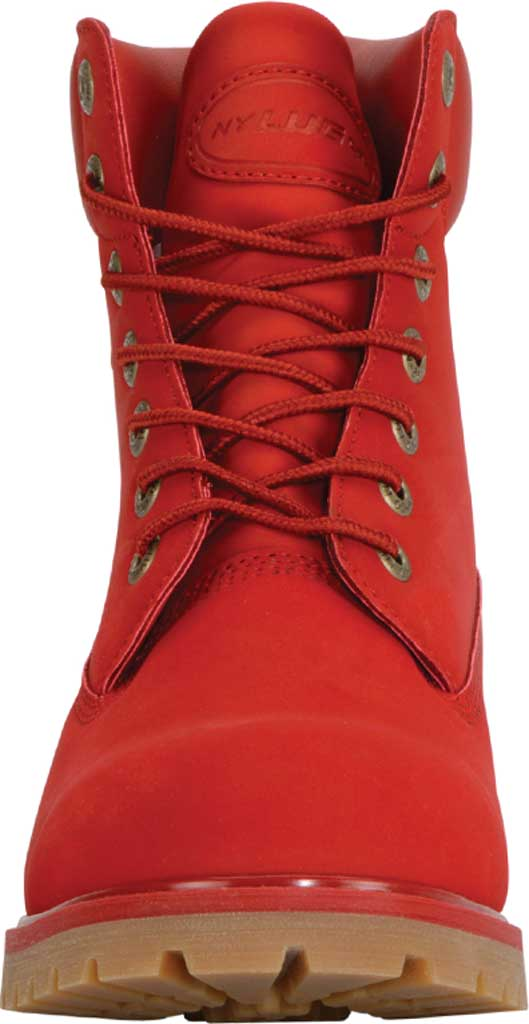 """Men's Lugz Convoy Water Resistant 6"""" Work Boot, Mars Red/Gum Synthetic, large, image 4"""