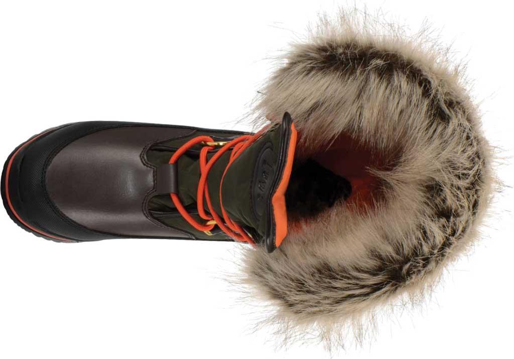 Women's Lugz Tundra Winter Boot, Dark Brown/Olive/Orange/Black Synthetic Nubuck, large, image 5