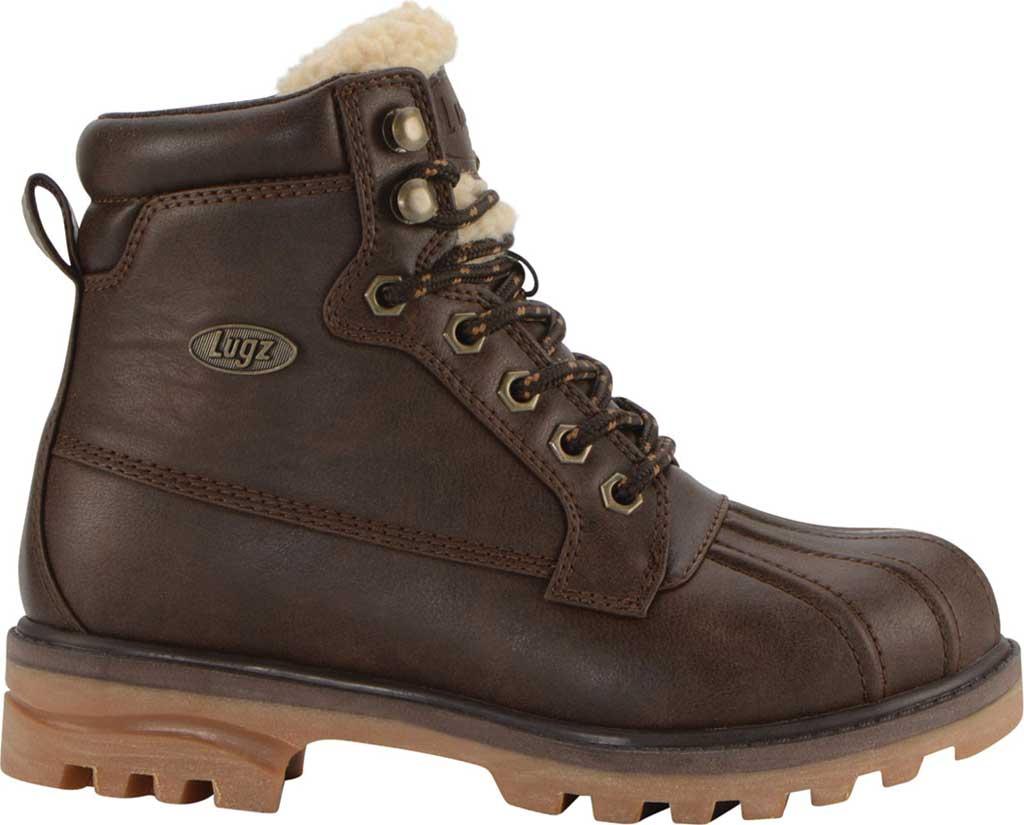 Women's Lugz Mallard Duck Boot, Coffee Bean/Cream/Gum Synthetic Leather, large, image 2