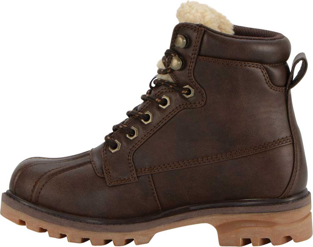 Women's Lugz Mallard Duck Boot, Coffee Bean/Cream/Gum Synthetic Leather, large, image 3