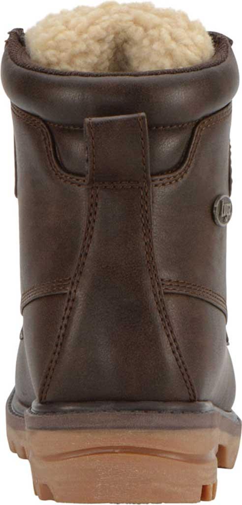 Women's Lugz Mallard Duck Boot, Coffee Bean/Cream/Gum Synthetic Leather, large, image 4