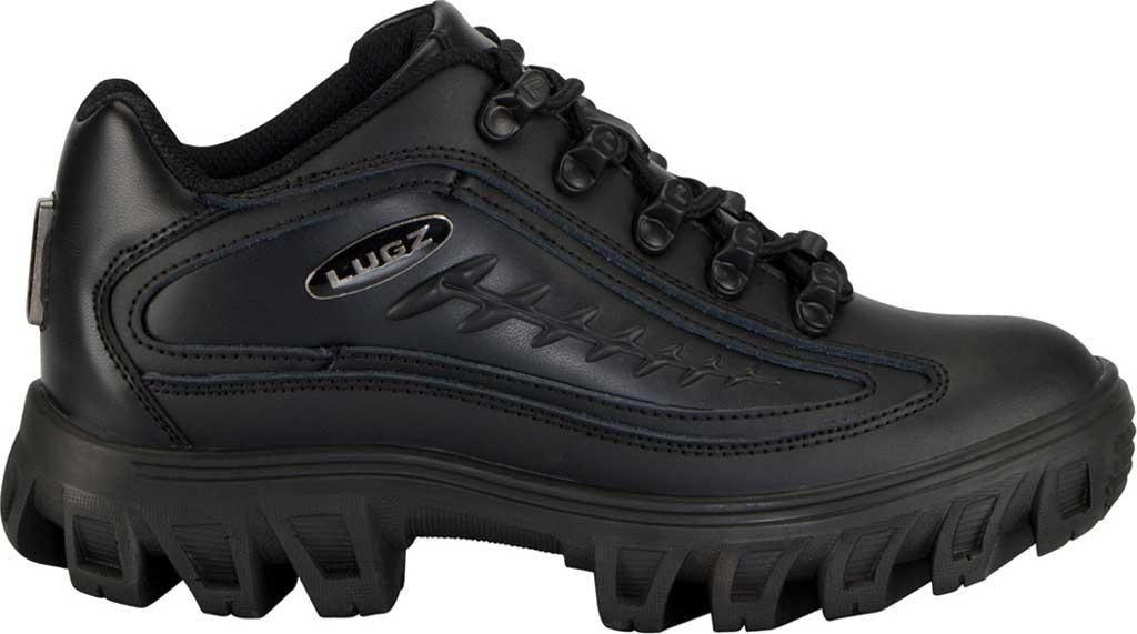Women's Lugz Dot.Com 2.0 Sneaker, Black Leather, large, image 2