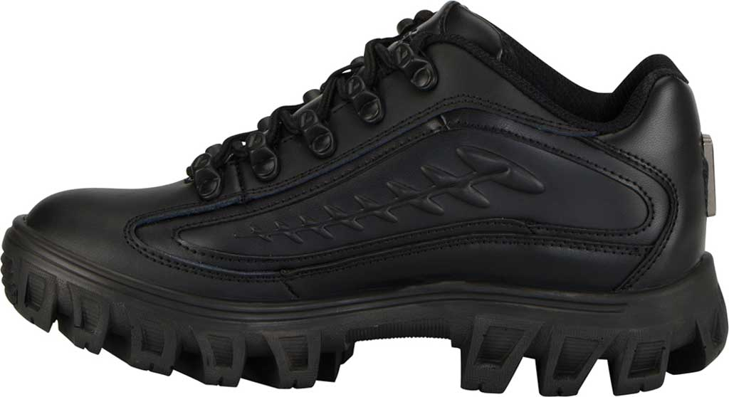 Women's Lugz Dot.Com 2.0 Sneaker, Black Leather, large, image 3