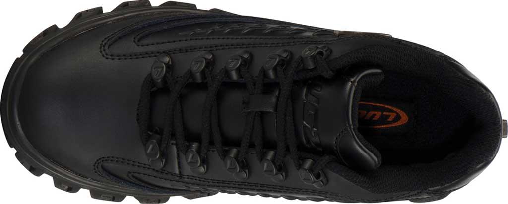 Women's Lugz Dot.Com 2.0 Sneaker, Black Leather, large, image 5
