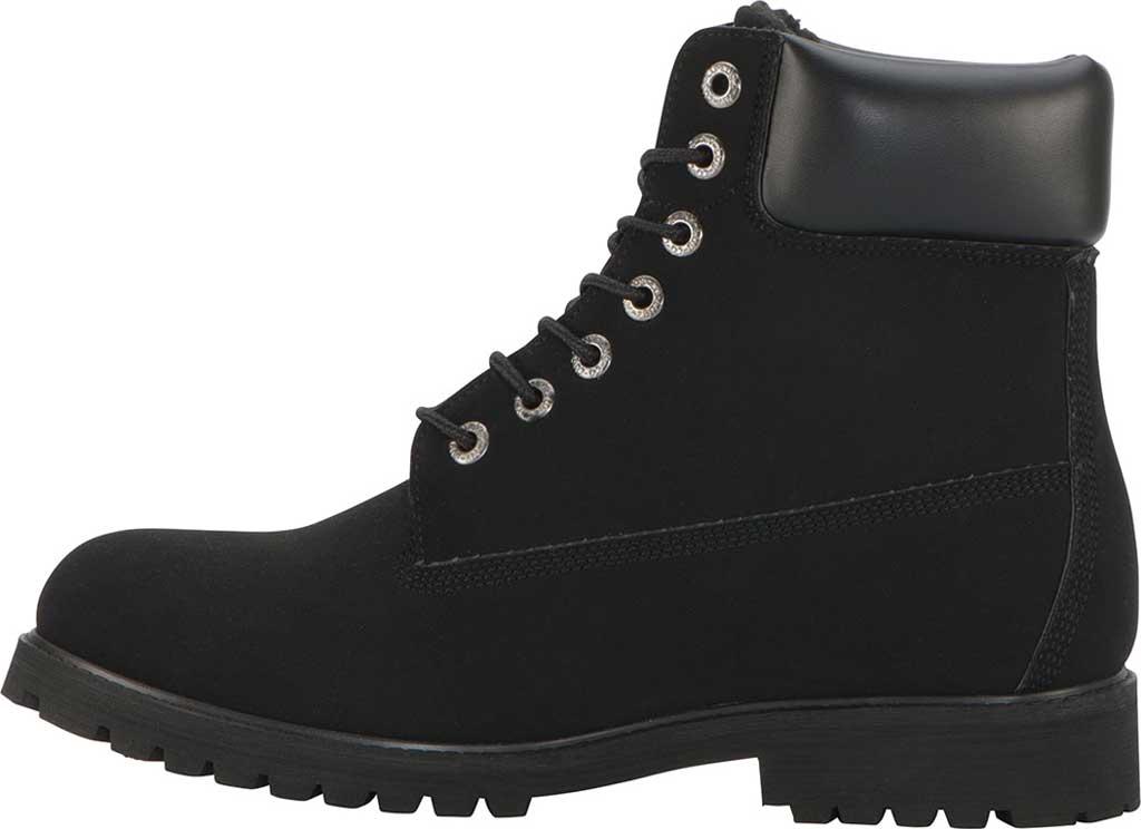 "Men's Lugz Convoy 6"" Boot, Black Synthetic Nubuck, large, image 3"