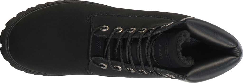 "Men's Lugz Convoy 6"" Boot, Black Synthetic Nubuck, large, image 5"