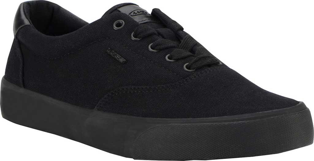 Men's Lugz Flip Oxford Sneaker, Black, large, image 1