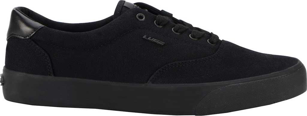 Men's Lugz Flip Oxford Sneaker, Black, large, image 2
