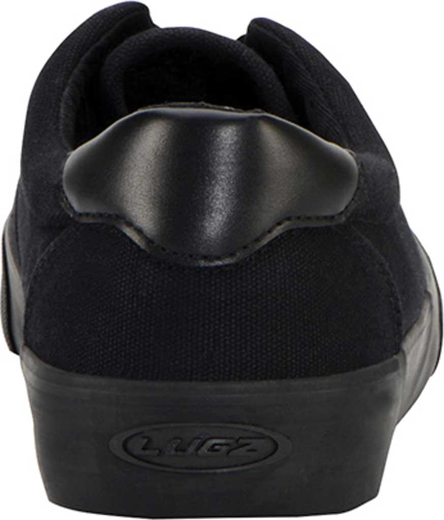 Men's Lugz Flip Oxford Sneaker, Black, large, image 4