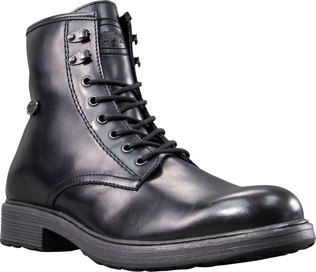 Men's Lugz Elmridge Ankle Boot, Black Perma Hide, large, image 1
