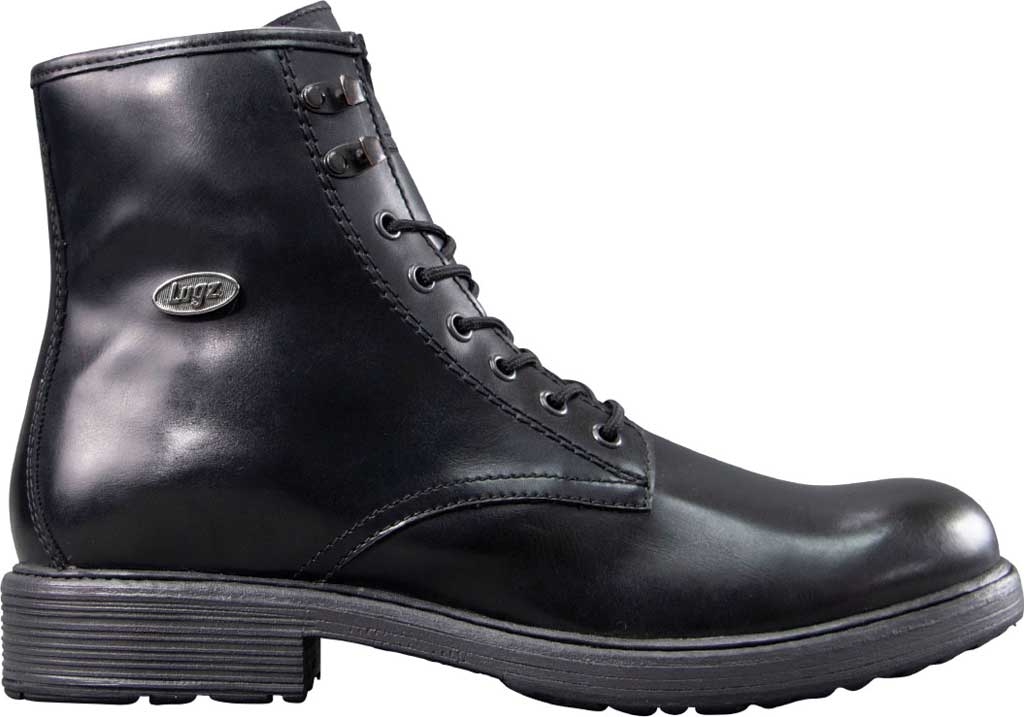 Men's Lugz Elmridge Ankle Boot, Black Perma Hide, large, image 2