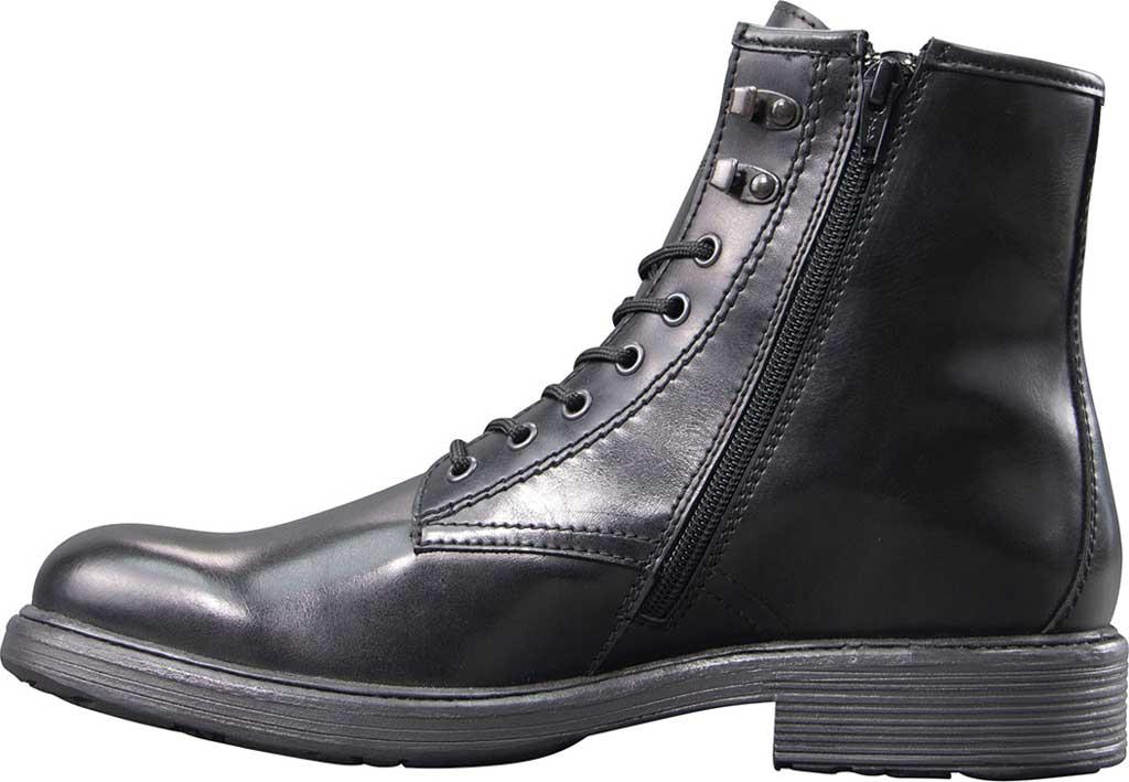 Men's Lugz Elmridge Ankle Boot, Black Perma Hide, large, image 3