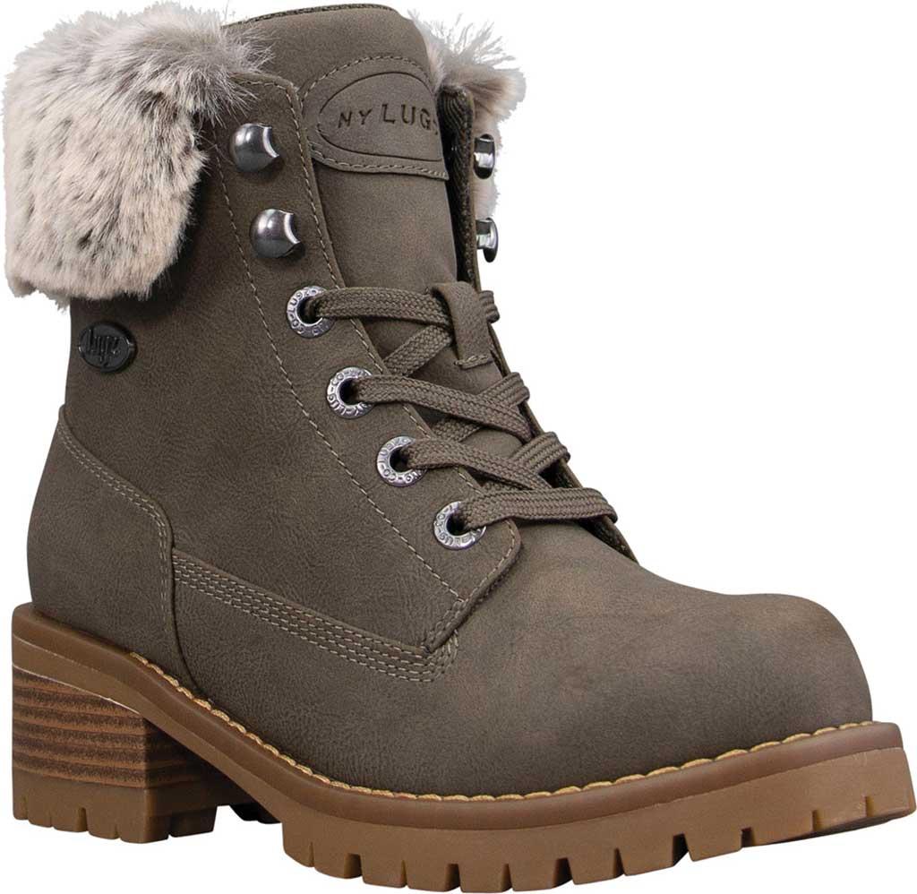 Women's Lugz Flirt Hi Fur Ankle Bootie, Woodland/Mire/Gum Durabush, large, image 1