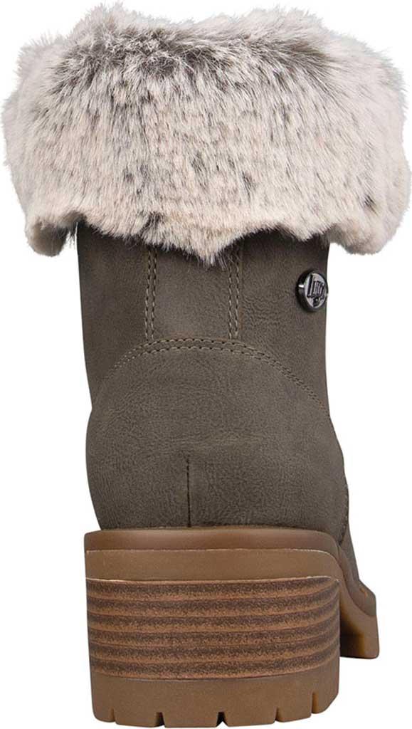 Women's Lugz Flirt Hi Fur Ankle Bootie, Woodland/Mire/Gum Durabush, large, image 4
