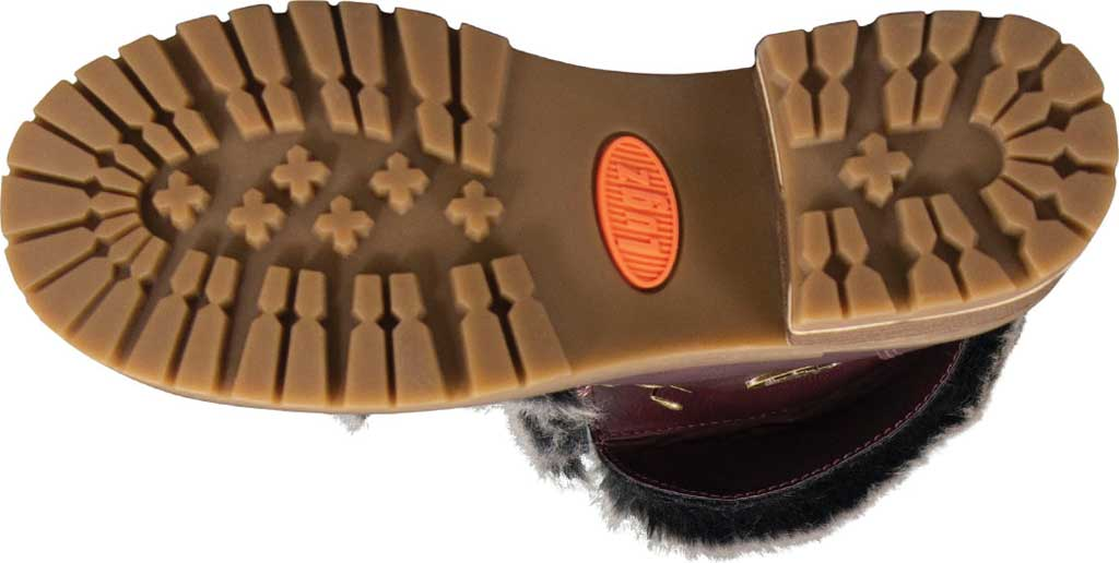 Women's Lugz Adore Fur Ankle Bootie, Wine/Gum Perma Hide, large, image 6