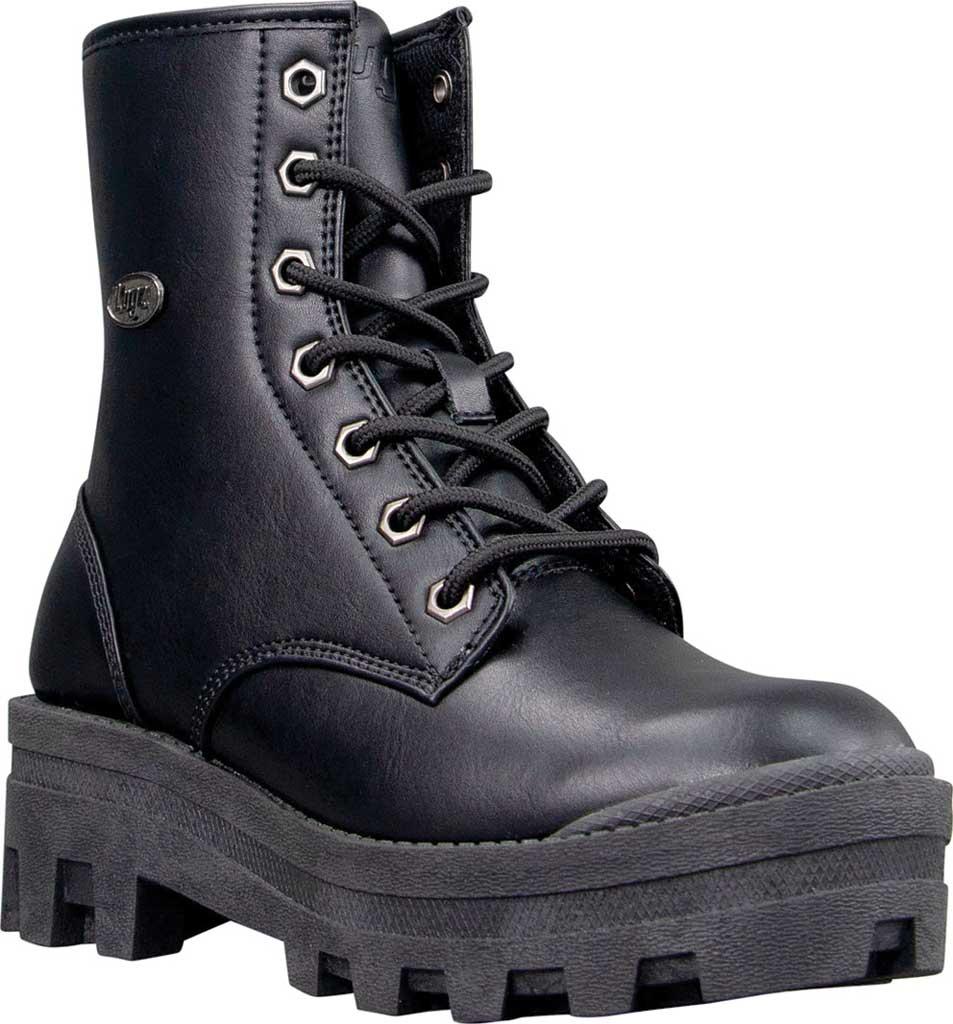 Women's Lugz Dutch Ankle Bootie, Black Perma Hide, large, image 1