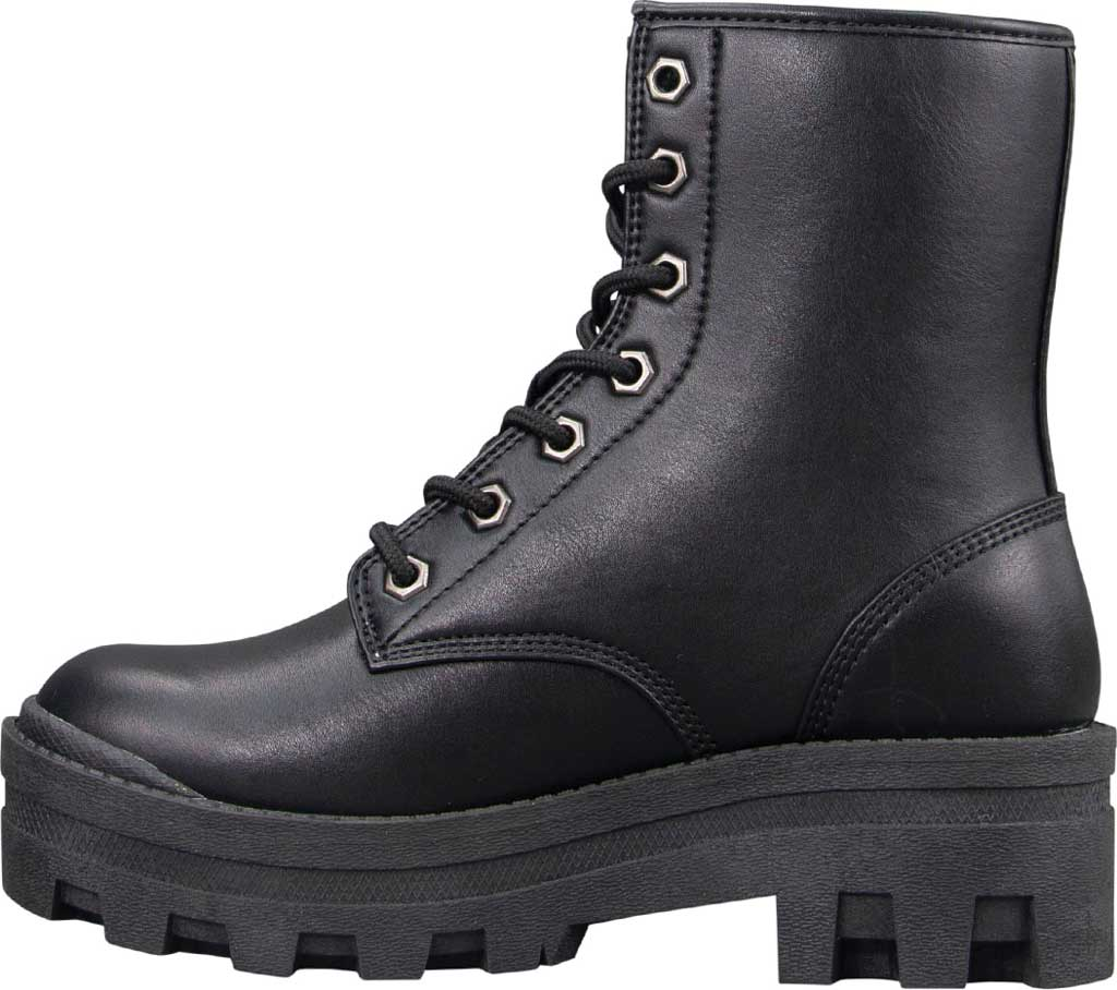 Women's Lugz Dutch Ankle Bootie, Black Perma Hide, large, image 3