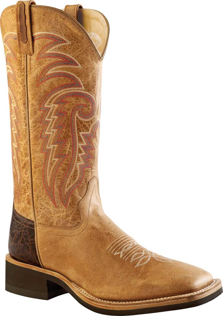Men's Old West 13 Inch Broad Square Toe Cowboy Boot, , large, image 1