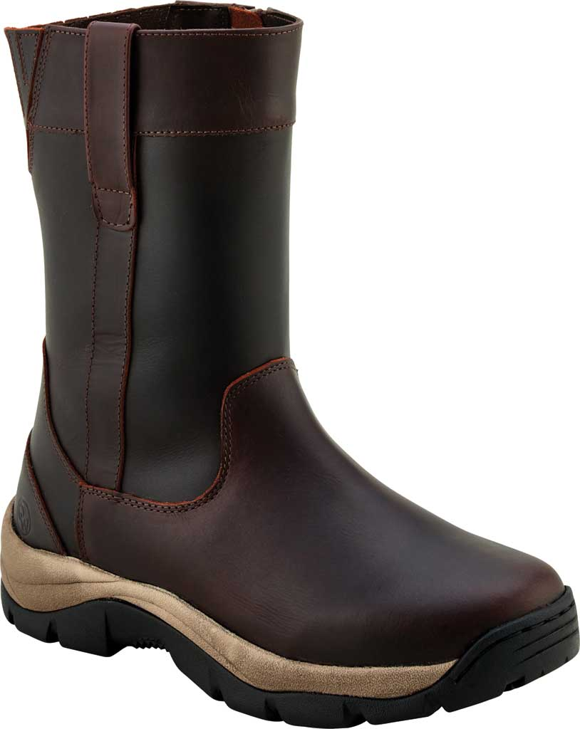 Men's Old West 9 Inch Work Boot, Oiled Rust Leather, large, image 1