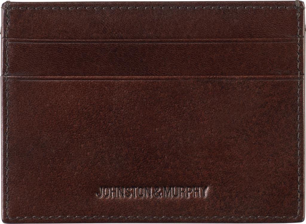 Men's Johnston & Murphy Weekender Case, Brown Leather, large, image 1