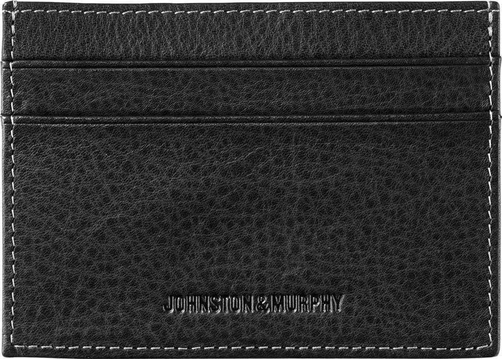 Men's Johnston & Murphy Weekender Case, Black Leather, large, image 1