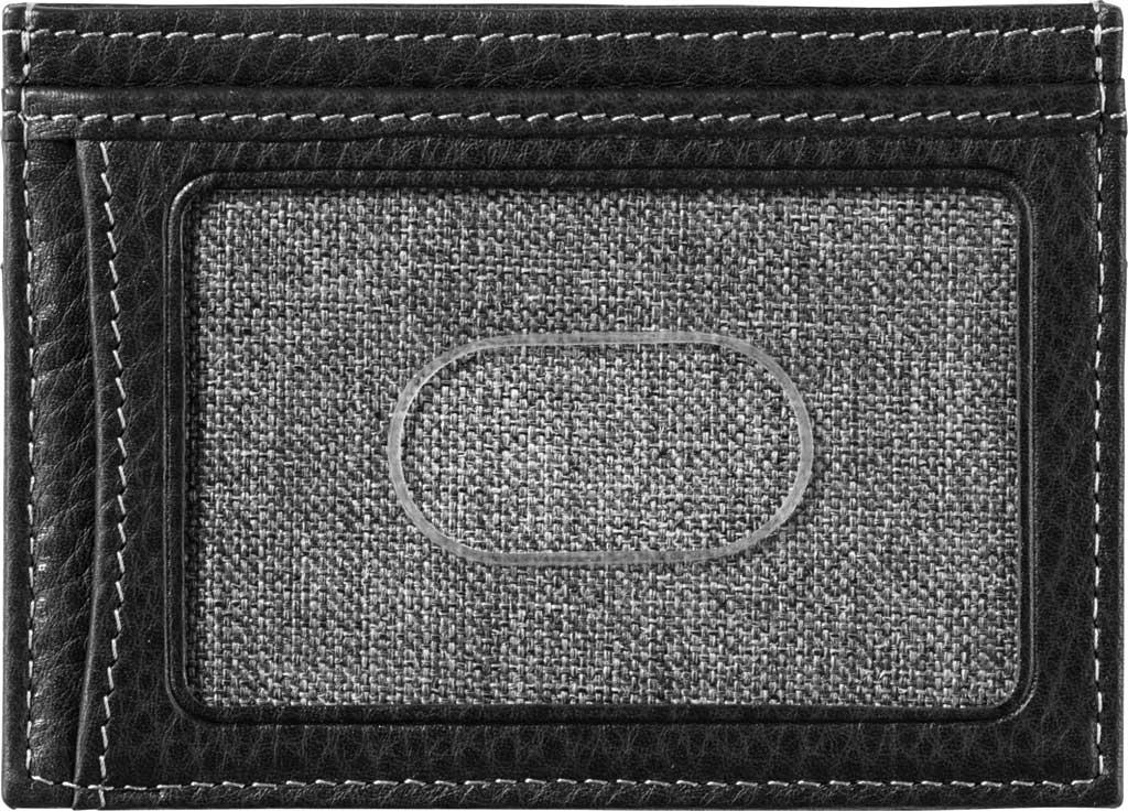 Men's Johnston & Murphy Weekender Case, Black Leather, large, image 2