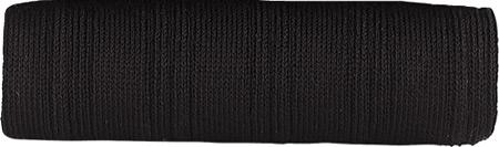 Men's Johnston & Murphy Pima Cotton Dress Socks Ribbed Over-Calf, Black, large, image 1
