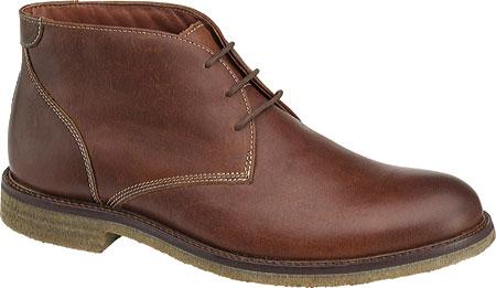 Men's Johnston & Murphy Copeland Chukka Boot, Red Brown Oiled Full Grain Leather, large, image 1